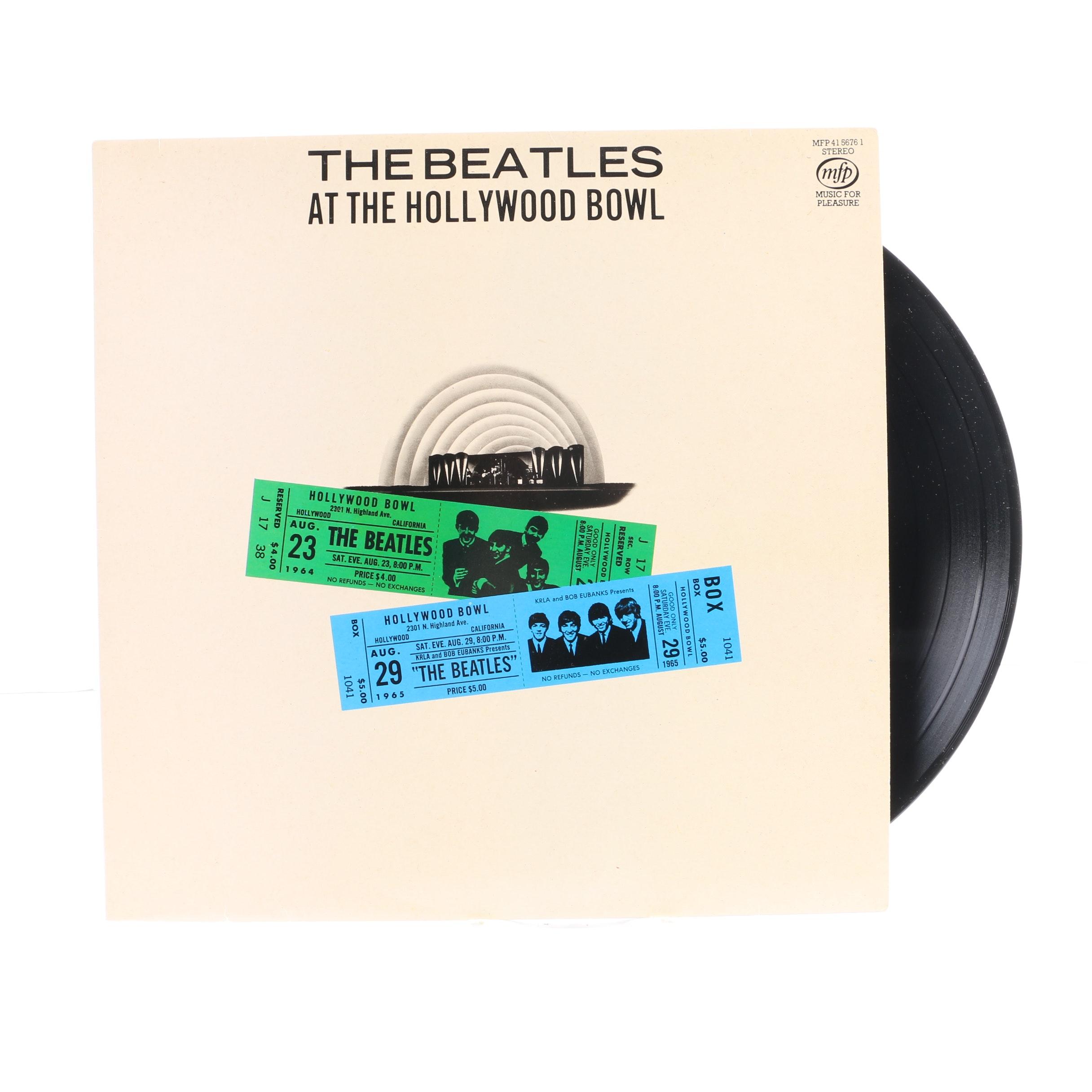 "The Beatles ""At The Hollywood Bowl"" UK Stereo Pressing LP"