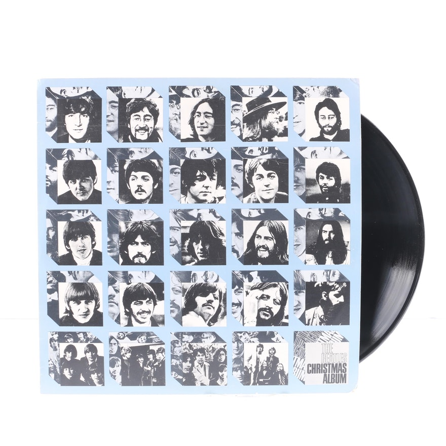 The Beatles Christmas Album.The Beatles Christmas Album Fan Club Only Compilation Bootleg Lp