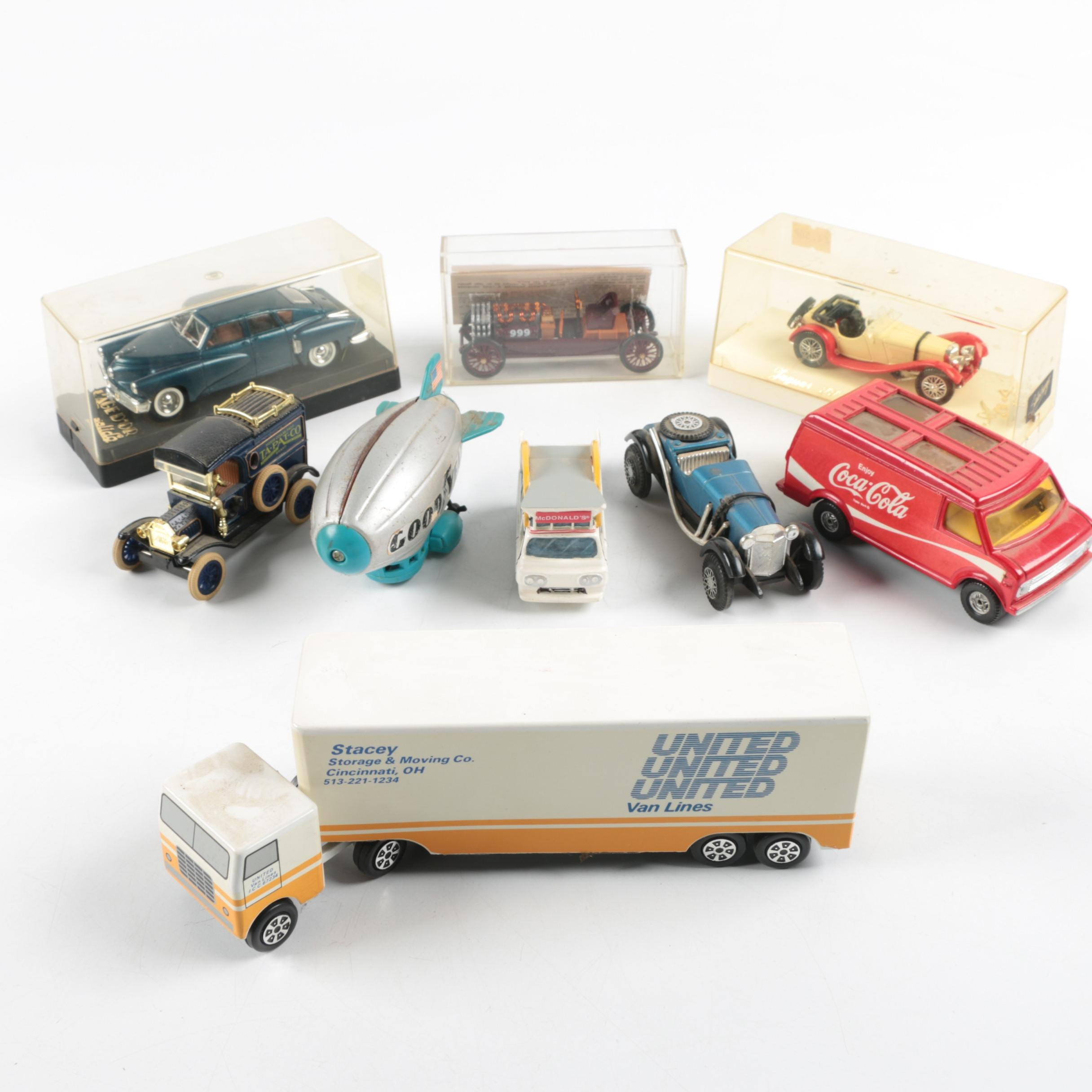 Collection of Die-Cast Vehicles