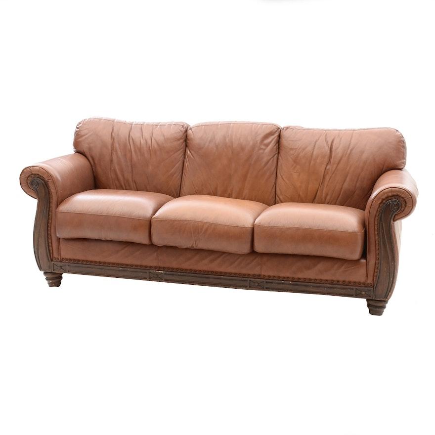 Robinson and leather sofa for Sofa cama medellin