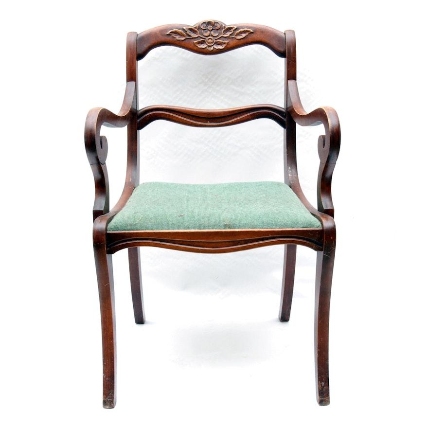 Marvelous Vintage Victorian Style Accent Chair Creativecarmelina Interior Chair Design Creativecarmelinacom