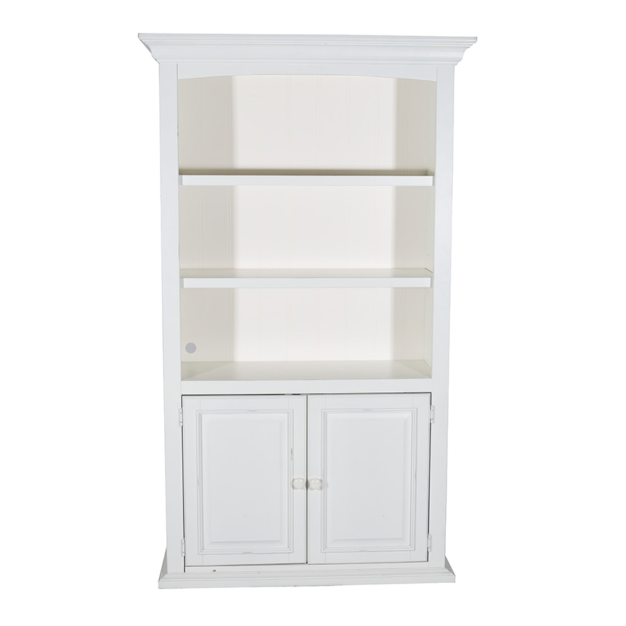 White Bookcase by Stanley Furniture Company