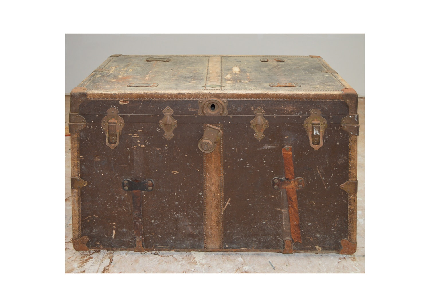 Vintage Steamer Trunk by Henry Likly & Co.