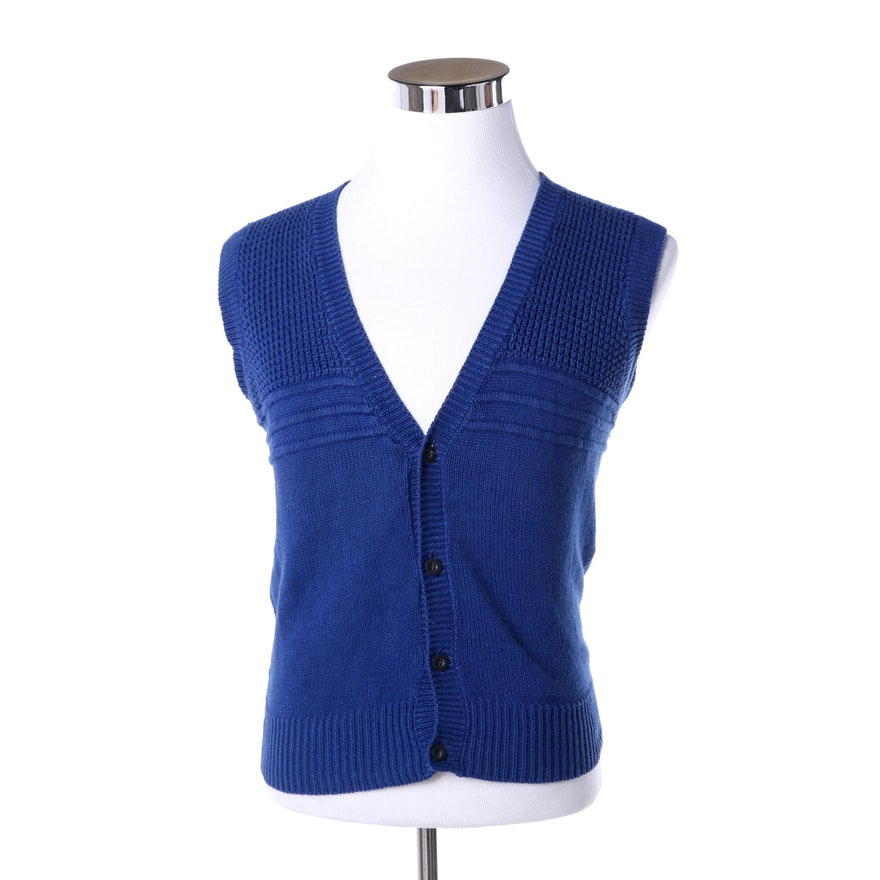 d5b0719878a Yves Saint Laurent Wool Sweater Vest : EBTH