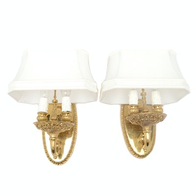 Vintage outdoor lighting used exterior lighting fixtures in fine brass candlestick wall sconce lights aloadofball Images