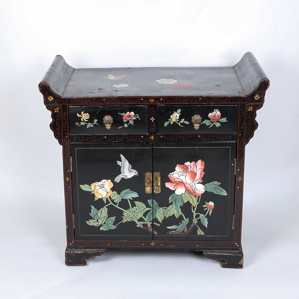 Black Painted Chinese Chest