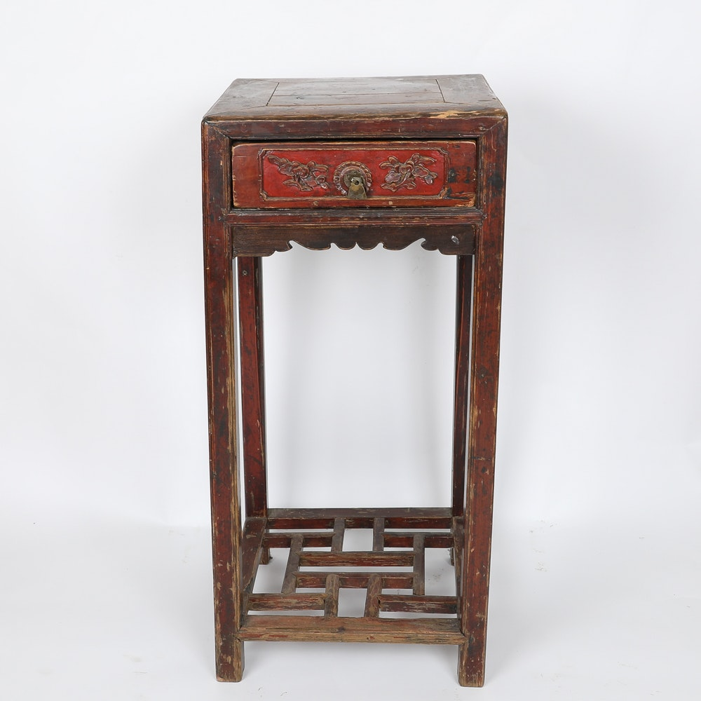 Antique Chinese Carved Stand