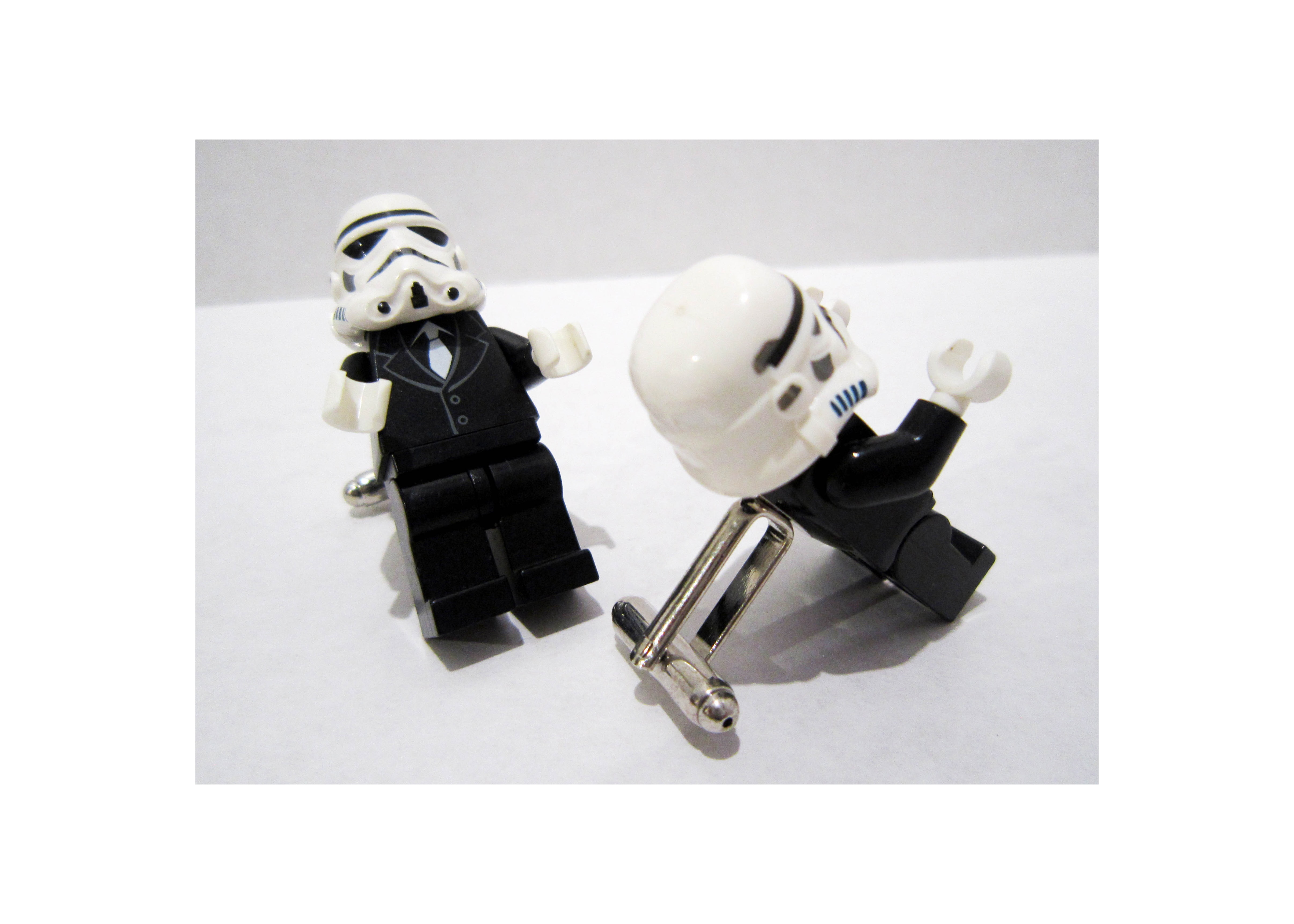 Stormtrooper Lego Cuff Links
