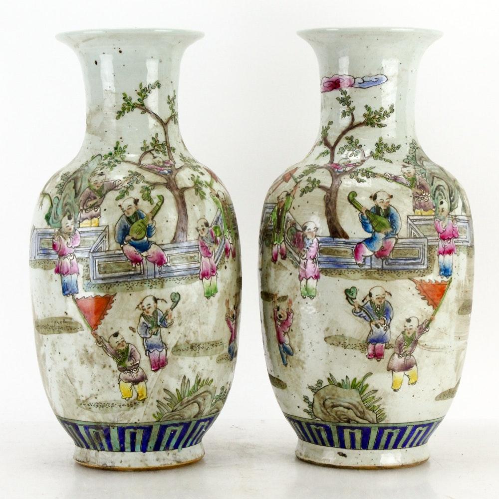 Chinese Ceramic Vases