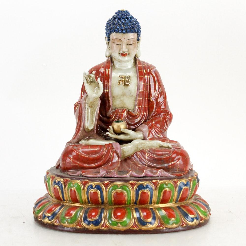 Chinese Buddha Statuette