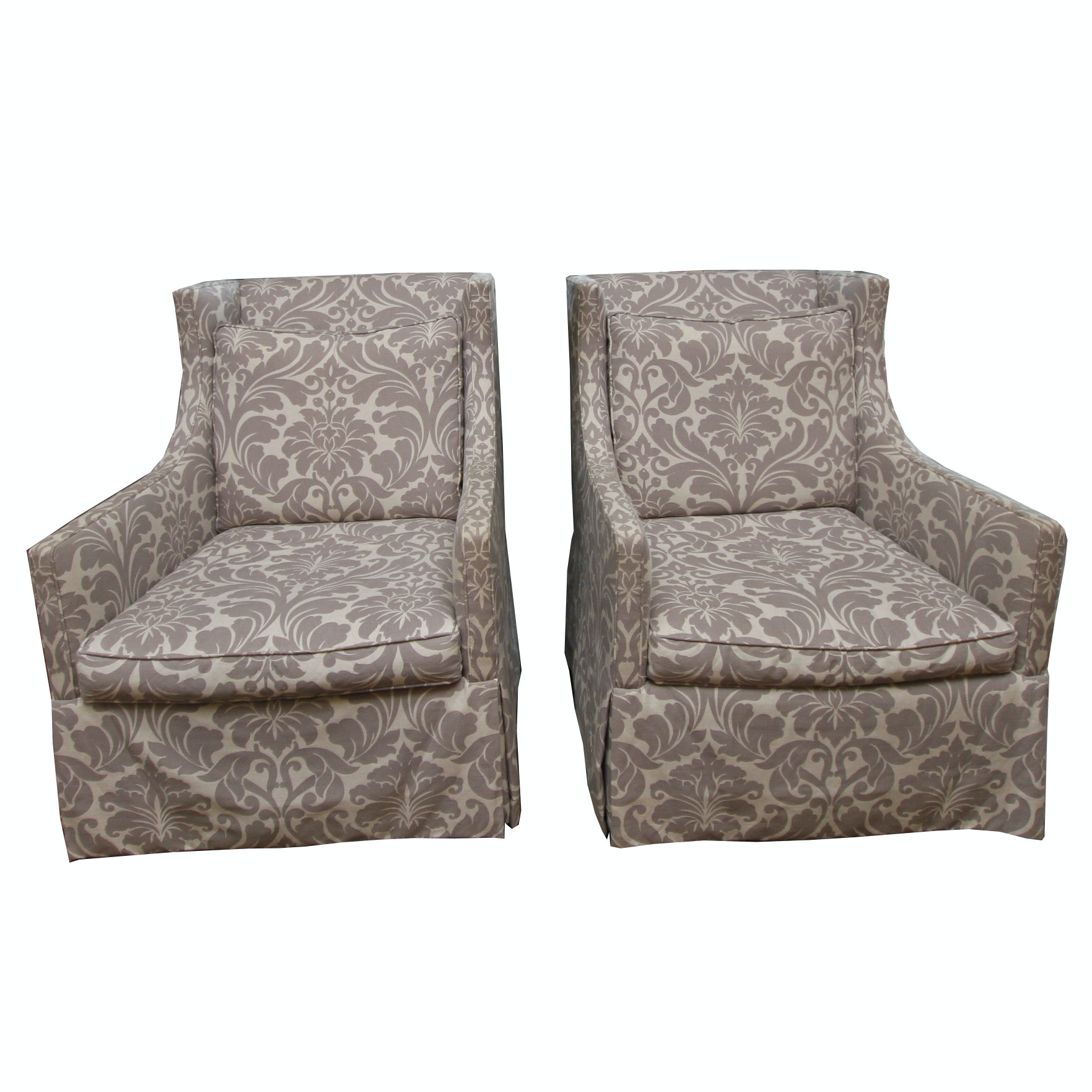 Upholstered Club Chairs by Lee Industries