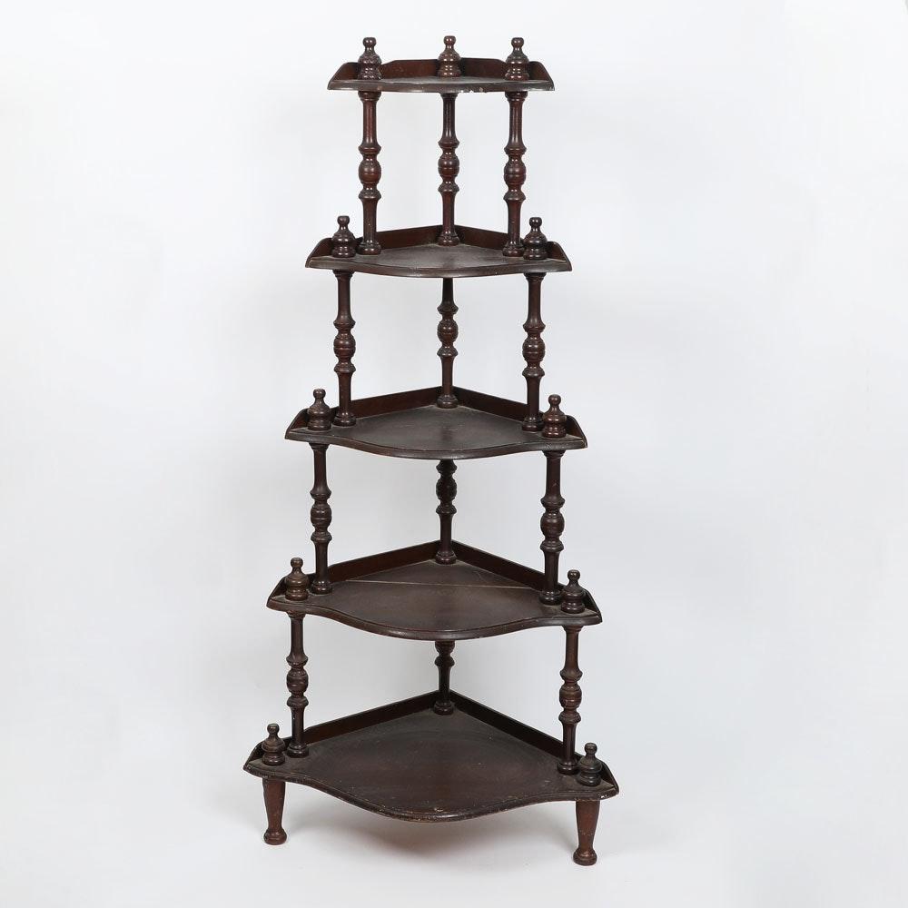 Wooden Five tier Shelf