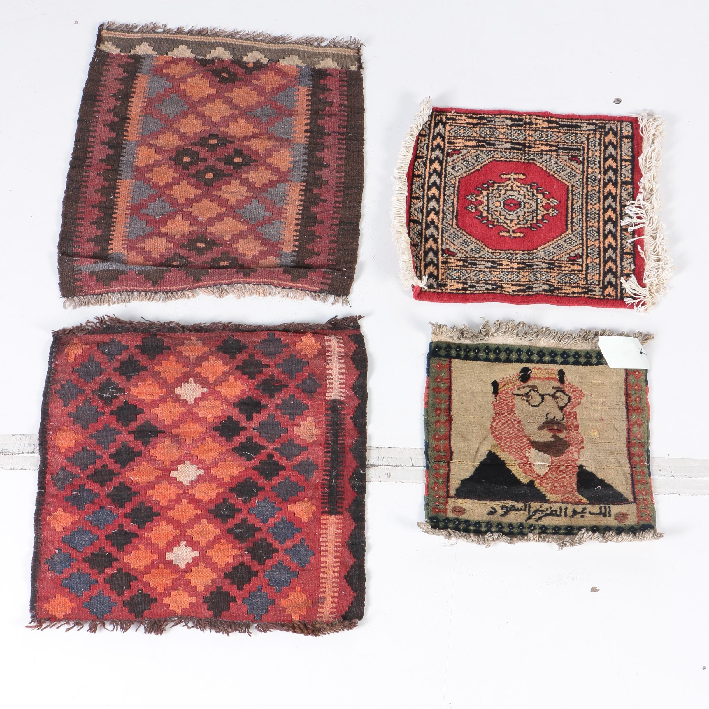 Handwoven and Hand-Knotted Wool Mats