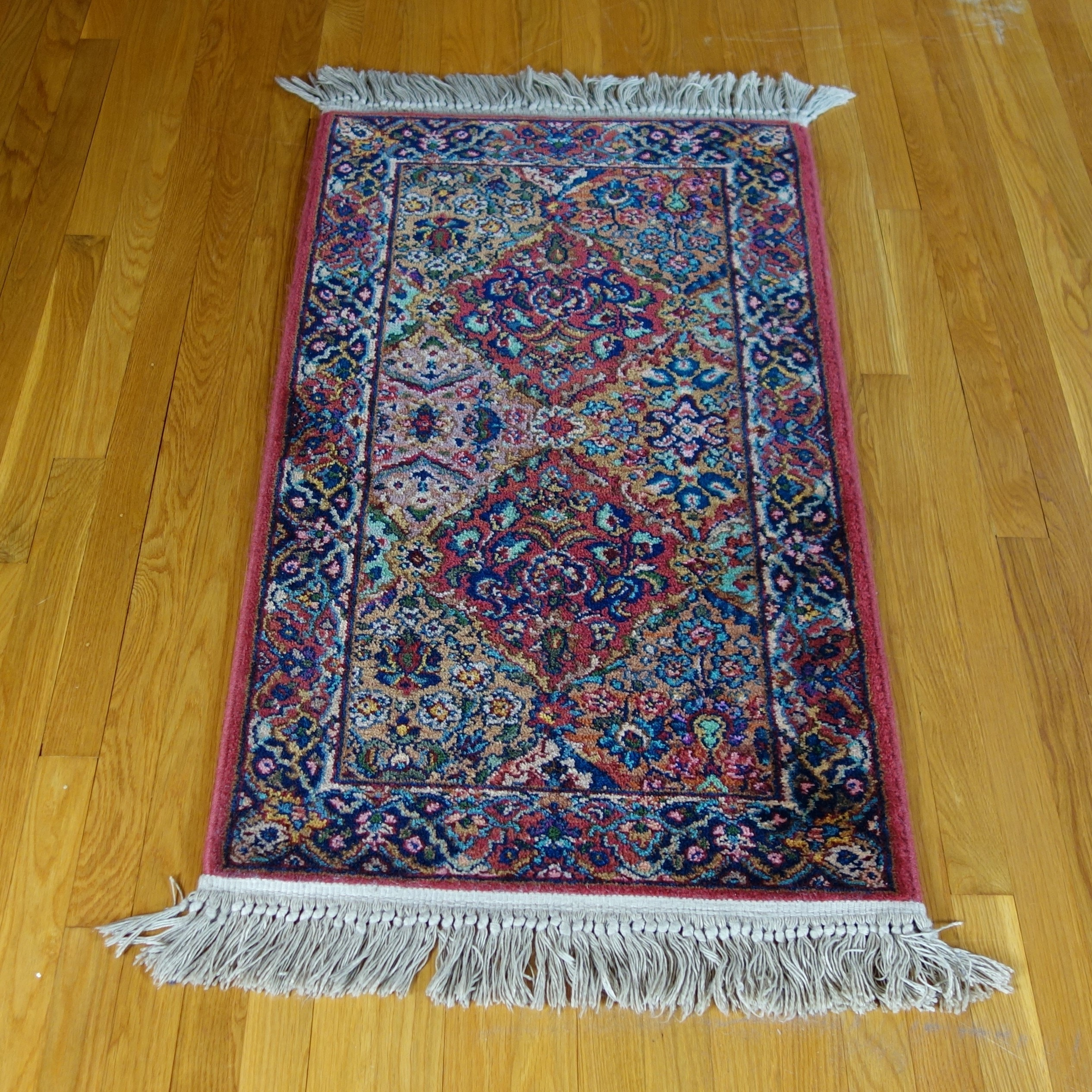 "Machine Made Karastan ""Kirman"" Wool Area Rug"