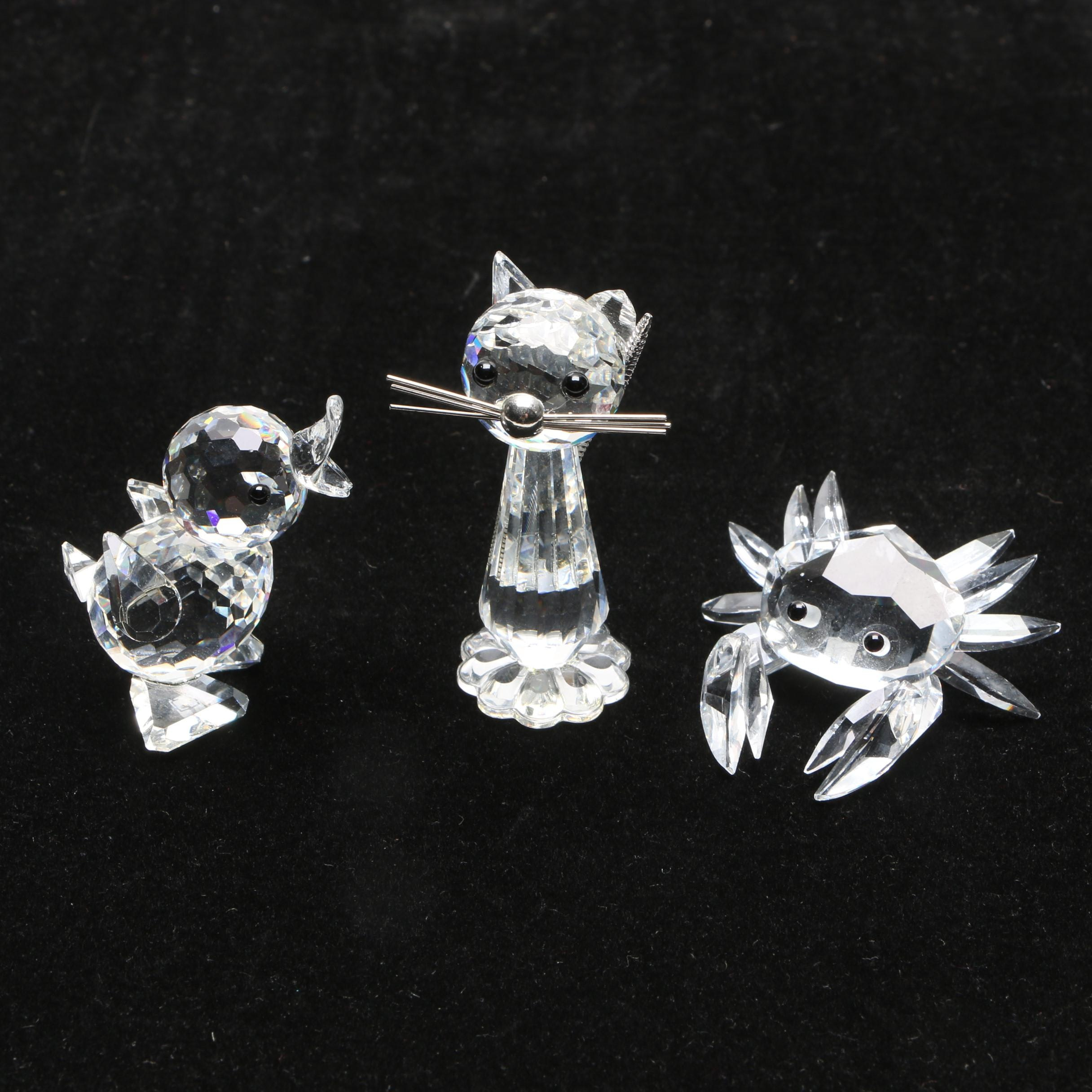 Swarovski Crystal Animal Figurines