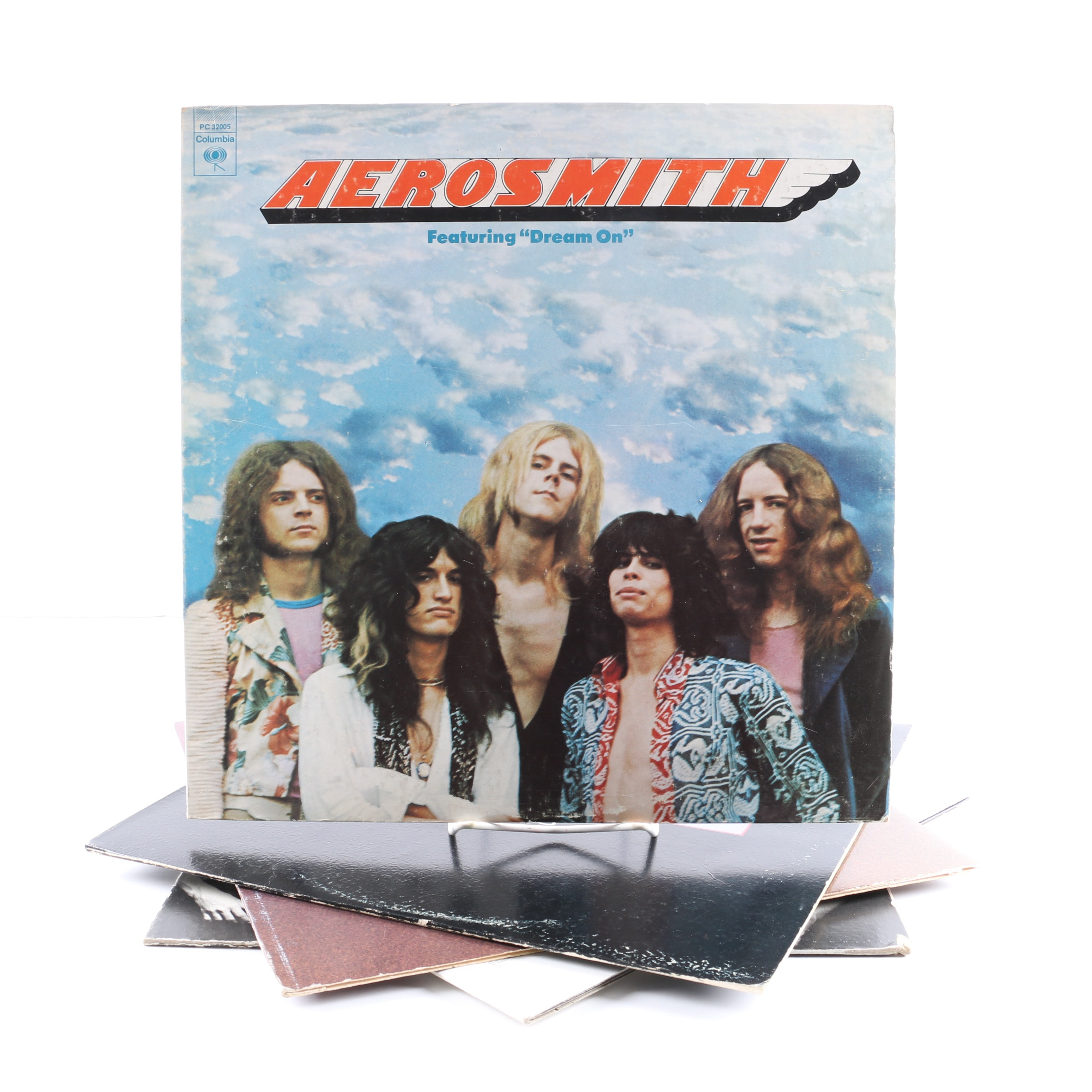 """Aerosmith LPs Including """"Toys In The Attic"""" and """"Rocks"""""""