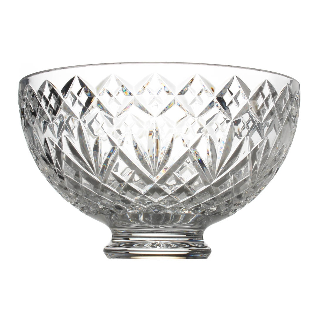 Signed Waterford Crystal Centerpiece Bowl