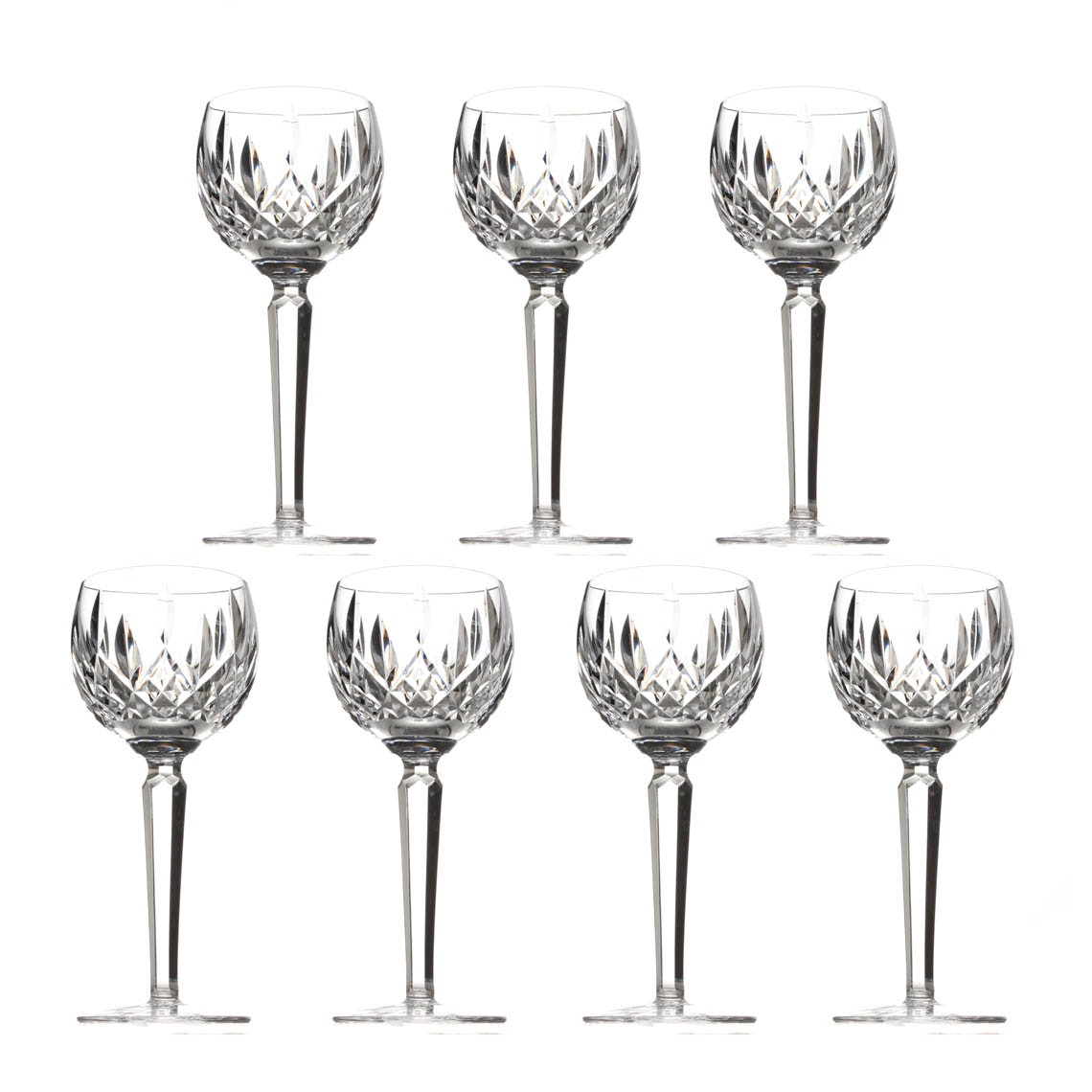 "Waterford Crystal ""Lismore"" Wine Hocks"