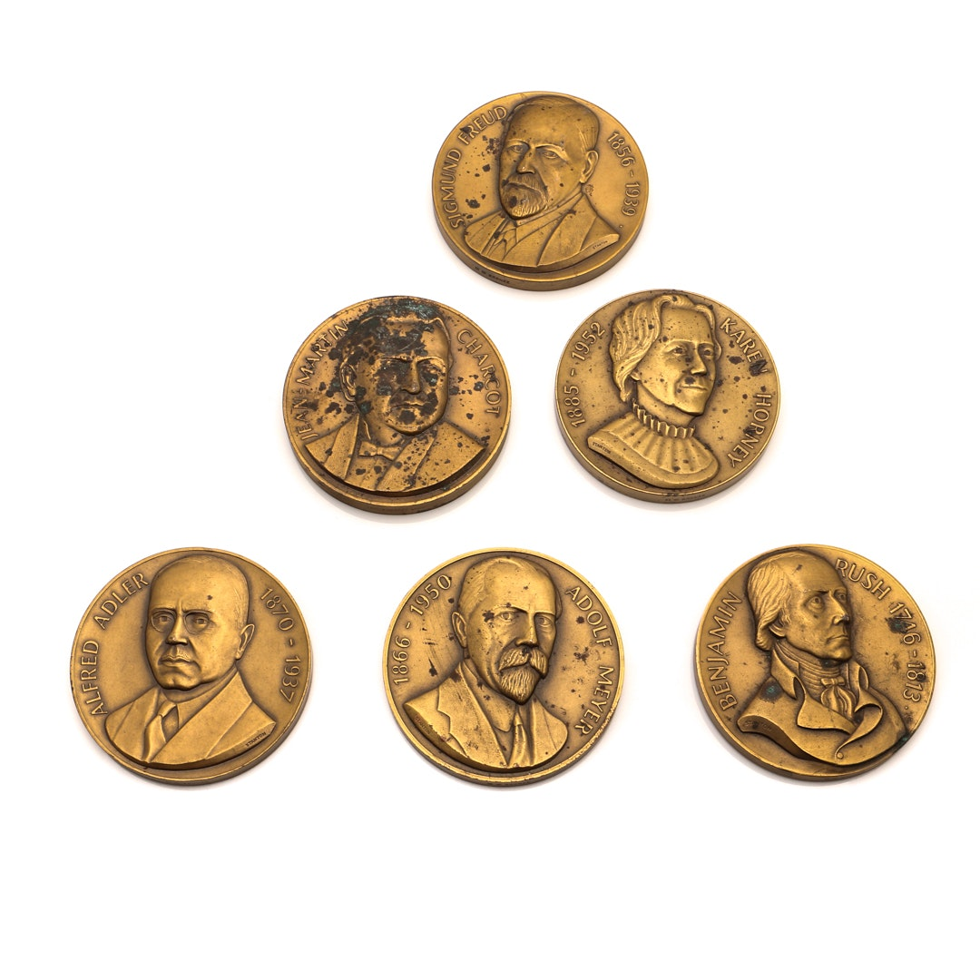 """Pathfinders in Psychiatry"" Bronze Medallion Collection"