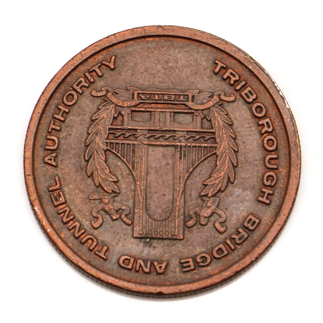 Triborough Bridge and Tunnel Authority NYC Transit Token