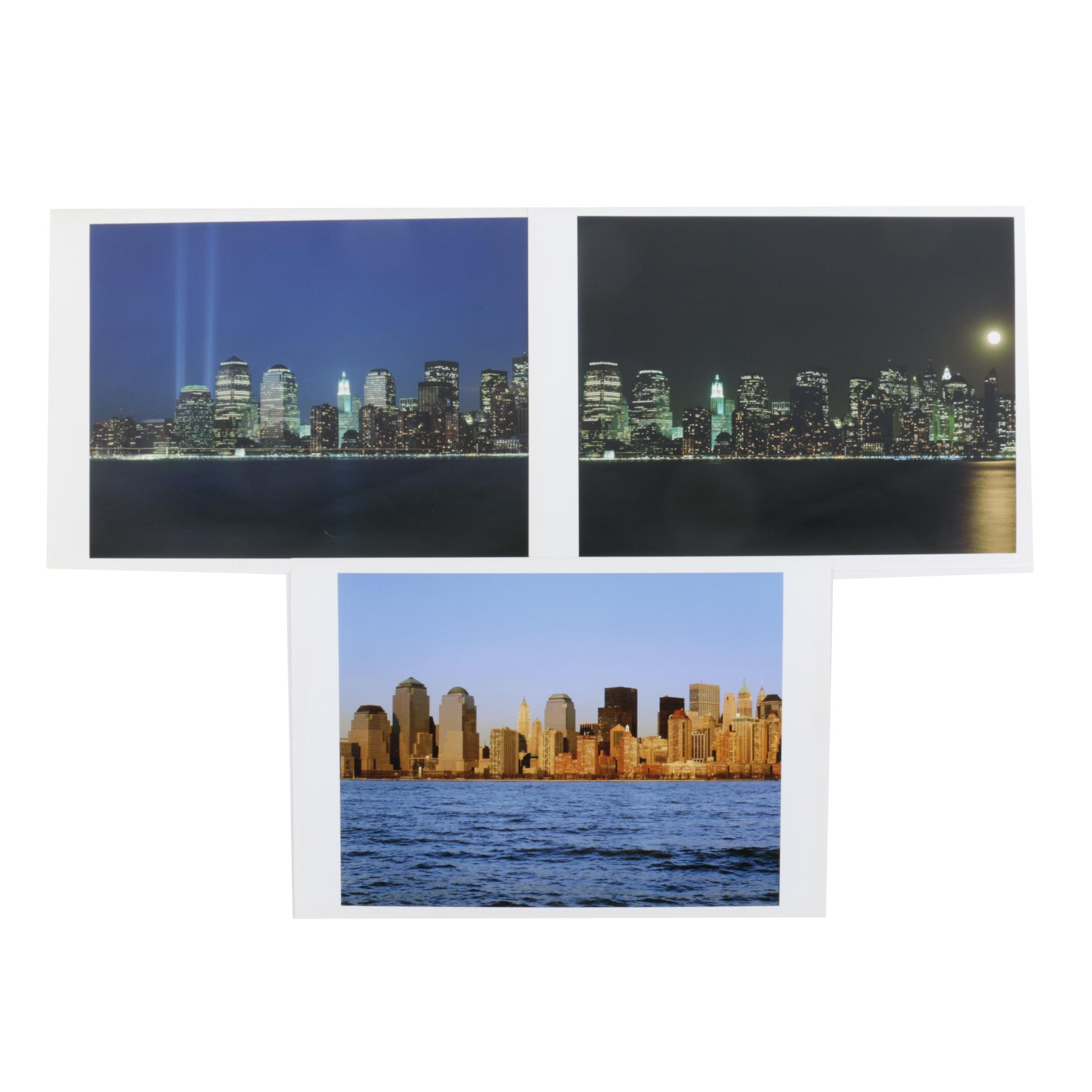 Digital Photographs of New York Skyline