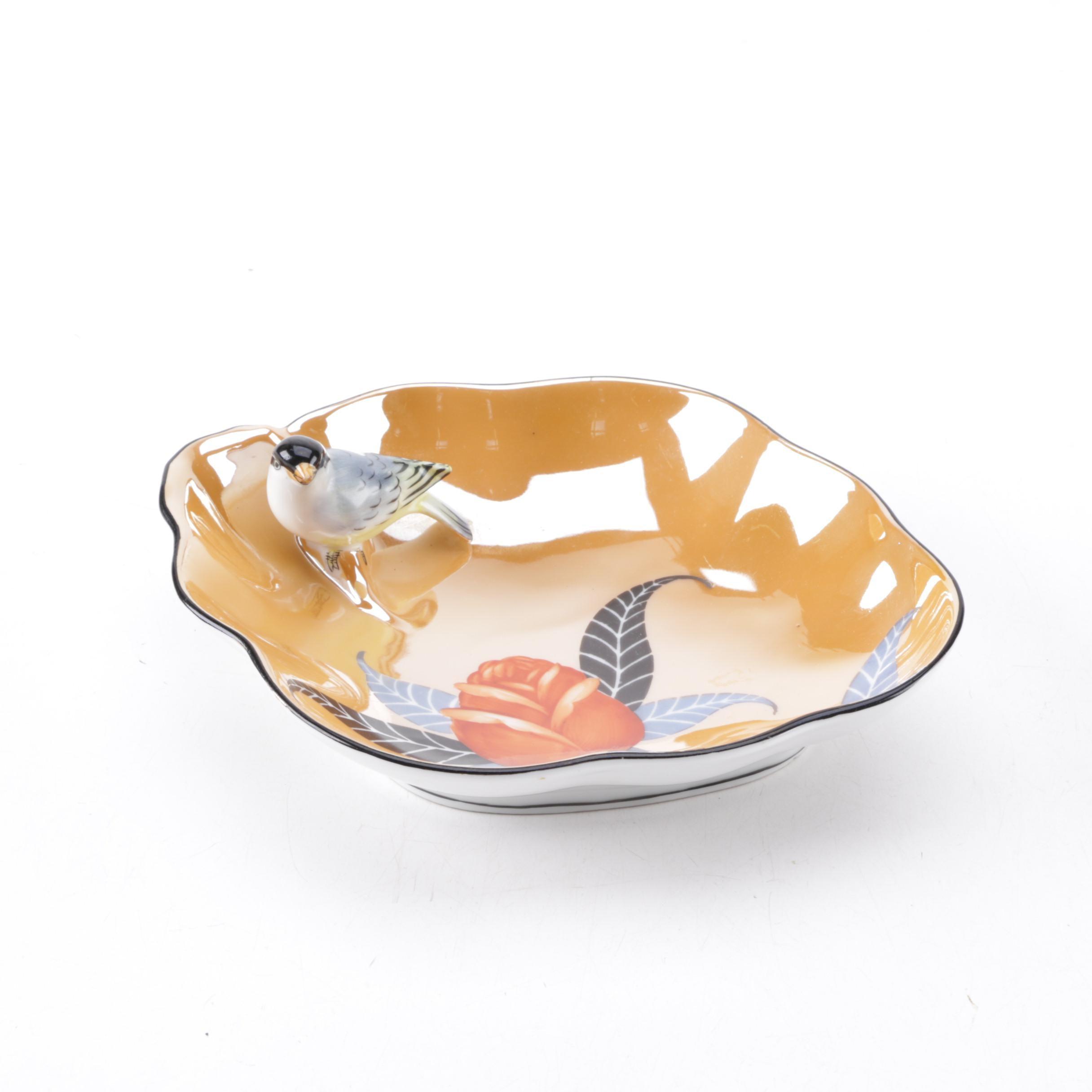 Noritake Figural Bird Bowl
