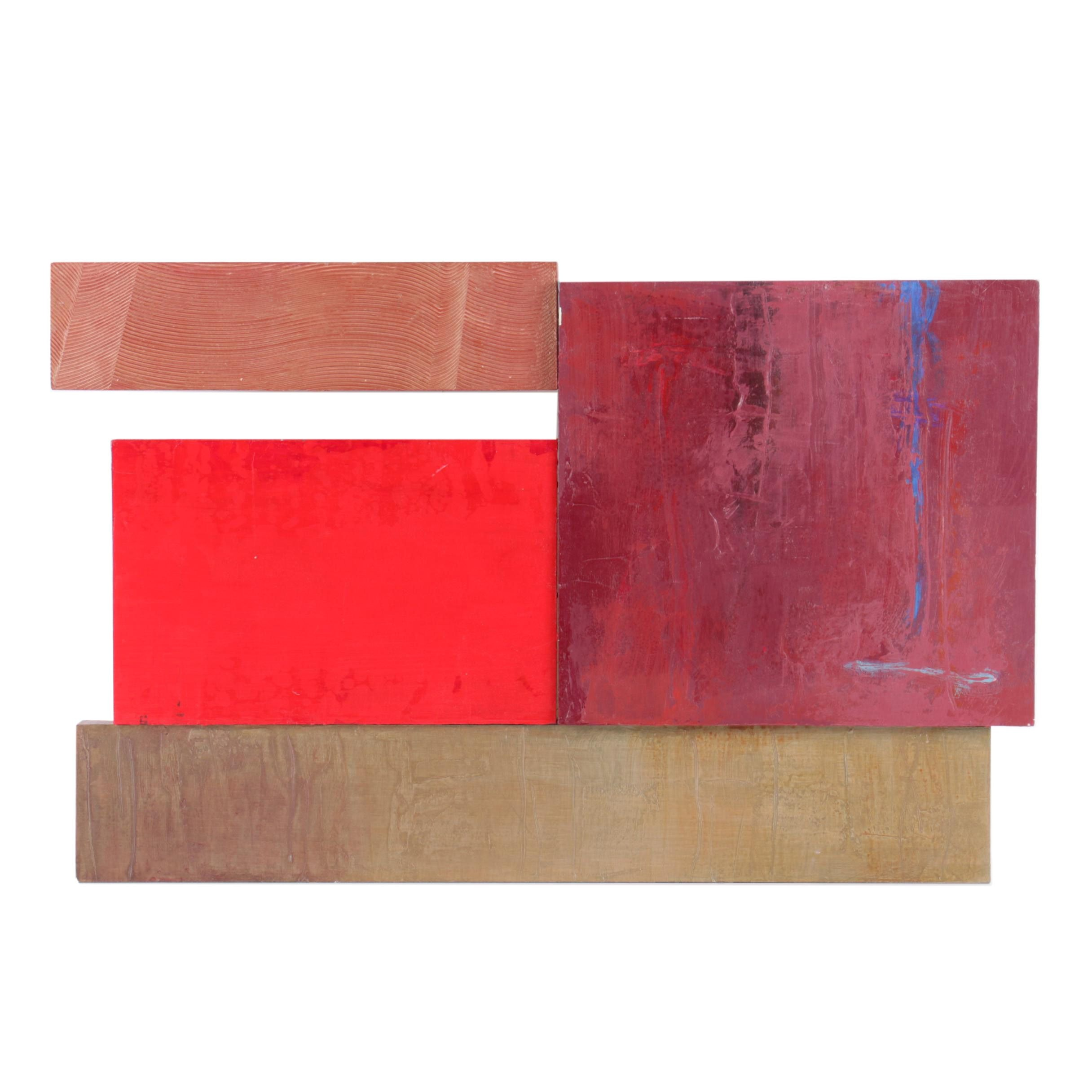 Nonobjective Sculptural Painting