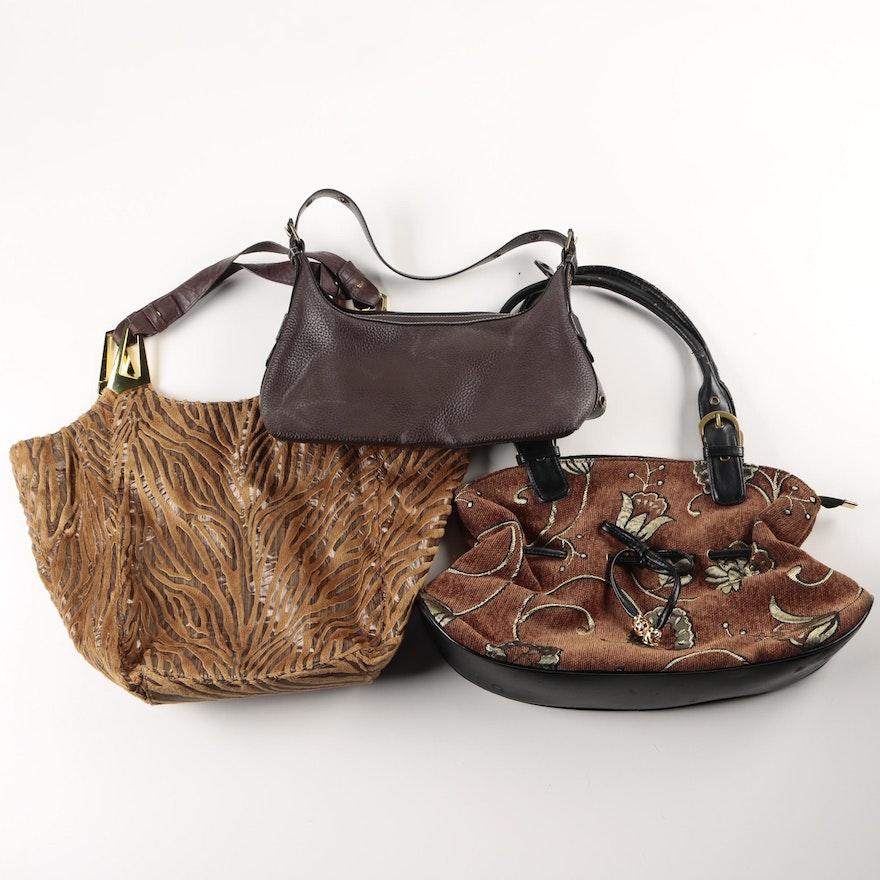 Liz Claiborne And Braciano Handbags