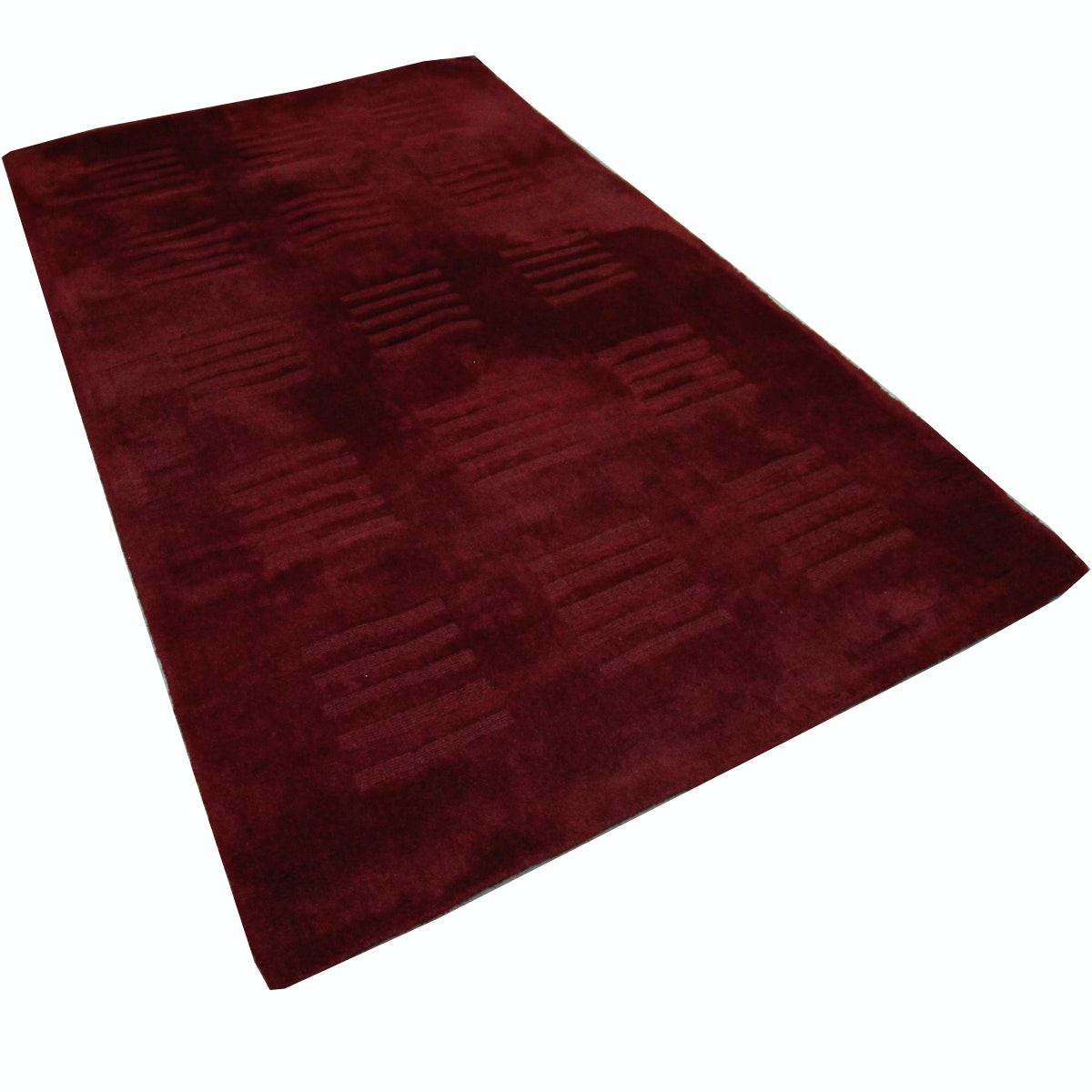 Hand Tufted Contemporary Indian Wool Area Rug