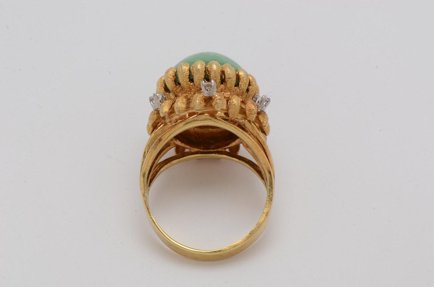 H K W Turquoise Ring