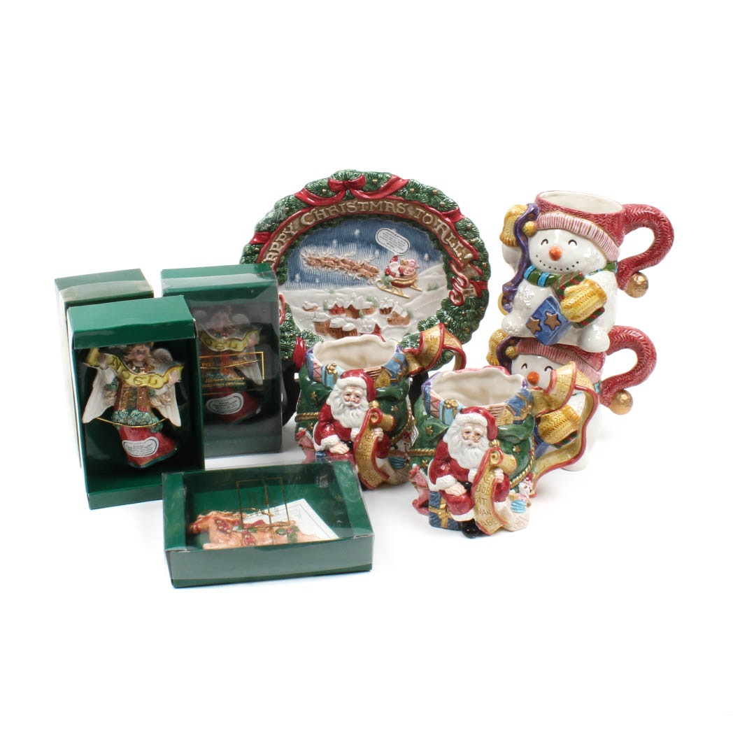Fitz and Floyd Holiday Porcelain