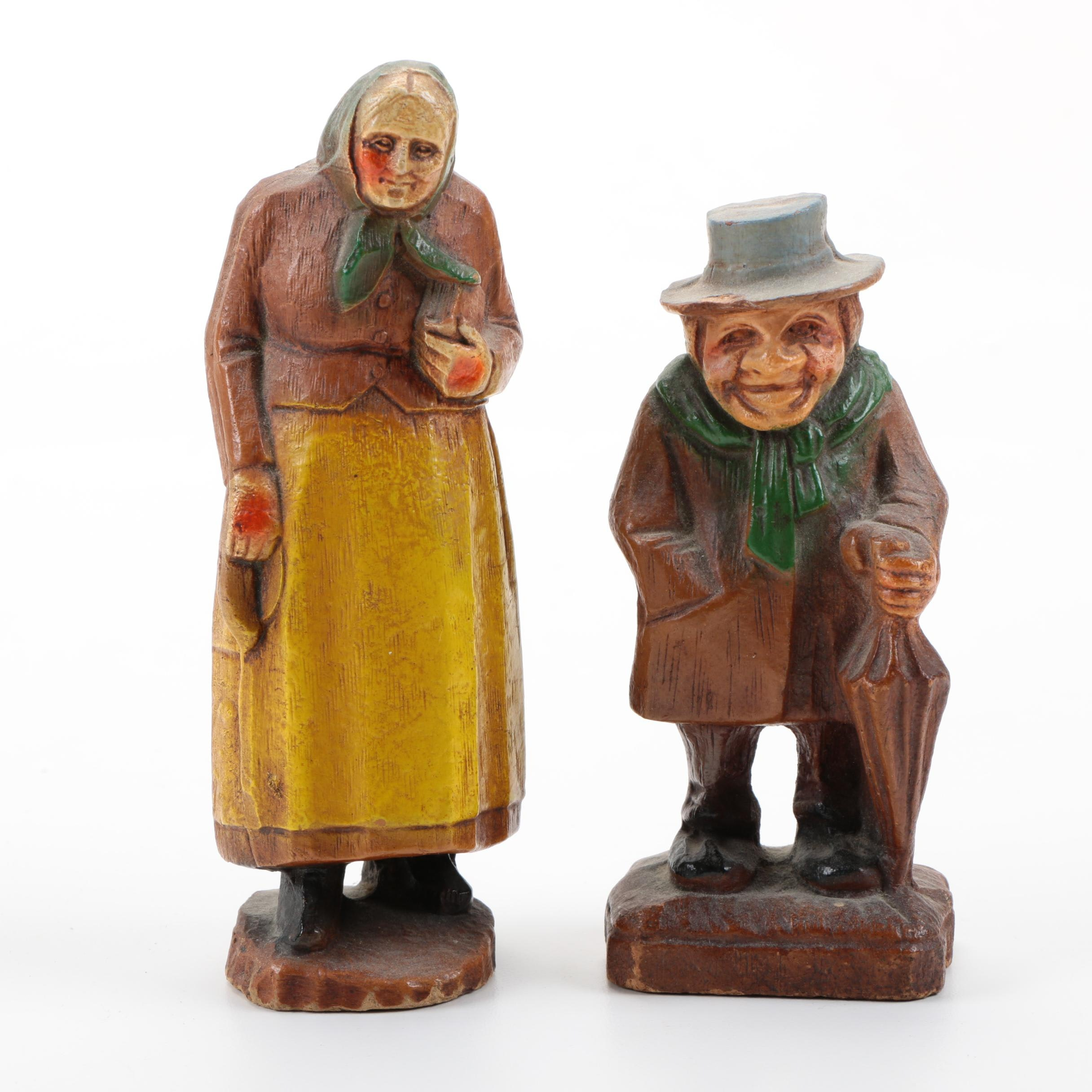 Hand-Painted Wooden Figurines