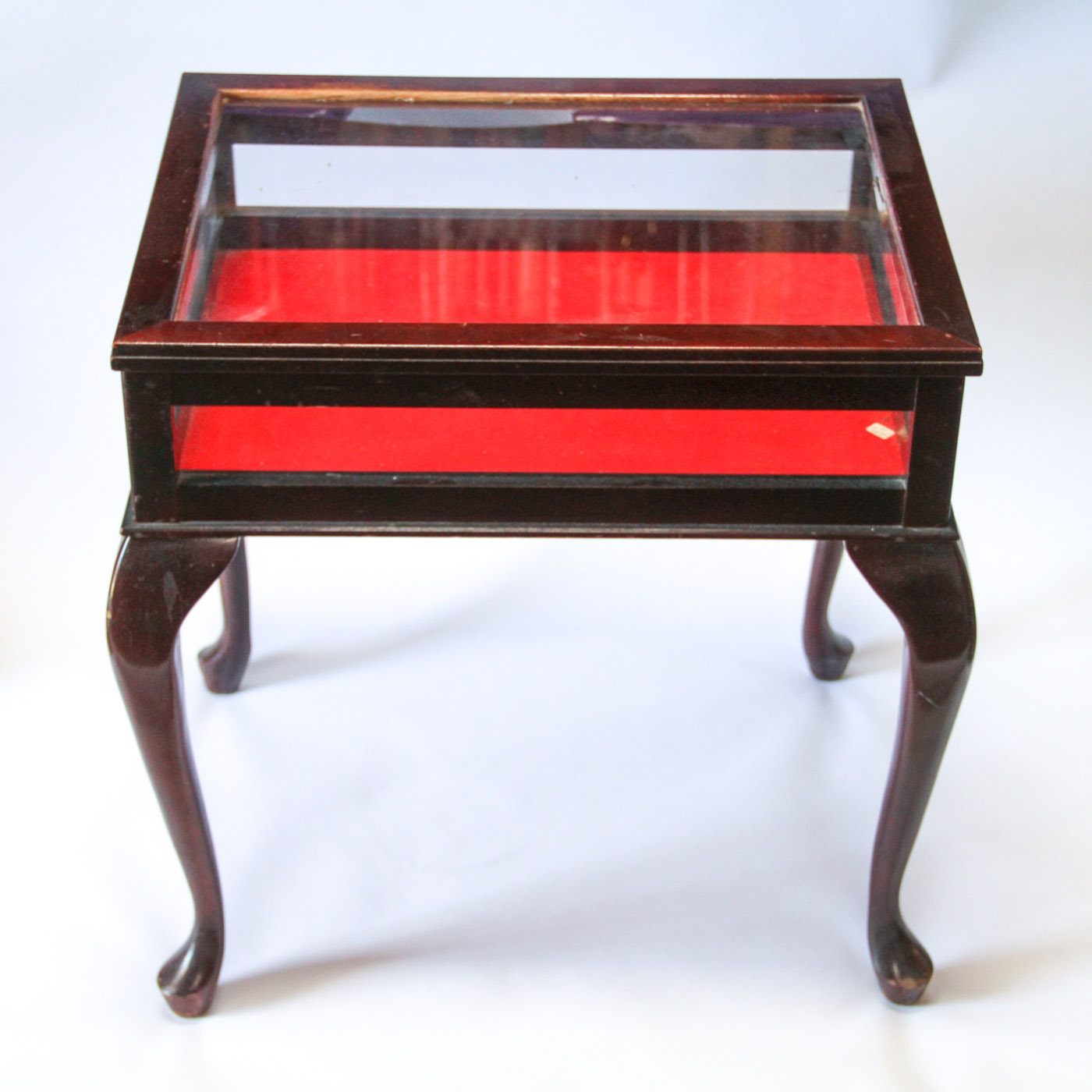 Queen Anne Style Curio Side Table