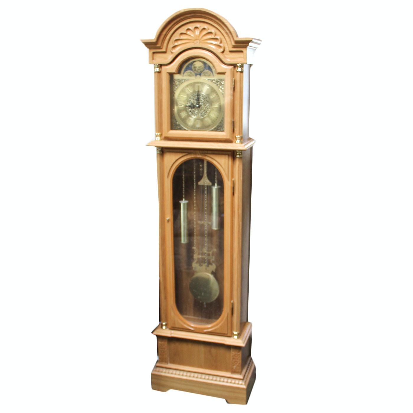 Vintage Daniel Dokota Grandfather Clock