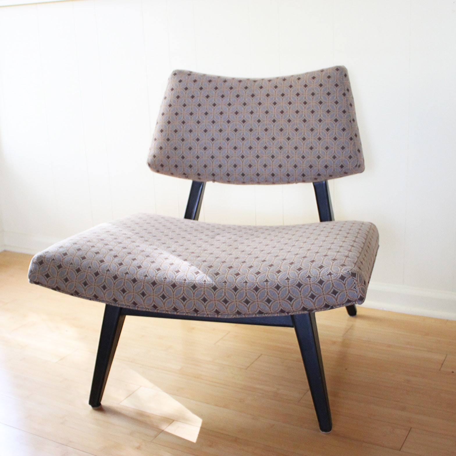Mid Century Modern Style Low Chair