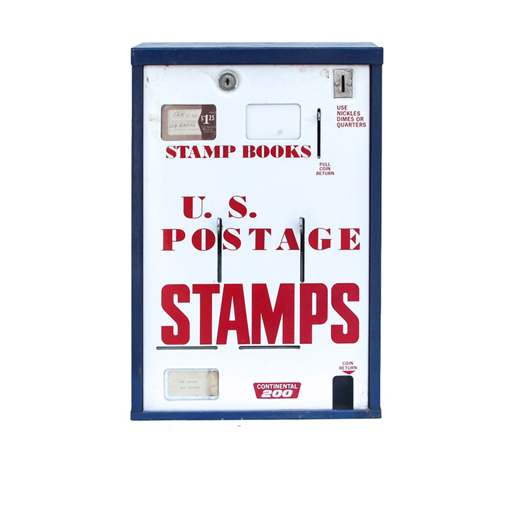 Vintage U.S Stamp Dispenser