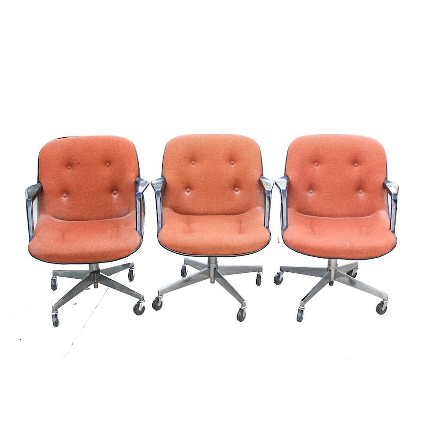 Surprising Vintage Gordon Manufacturing Co Swivel Office Chairs Machost Co Dining Chair Design Ideas Machostcouk