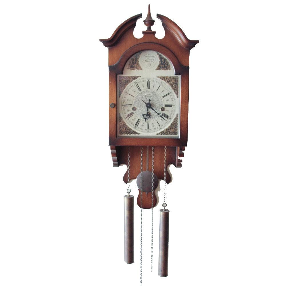 Vintage Linden Pendulum Wall Clock