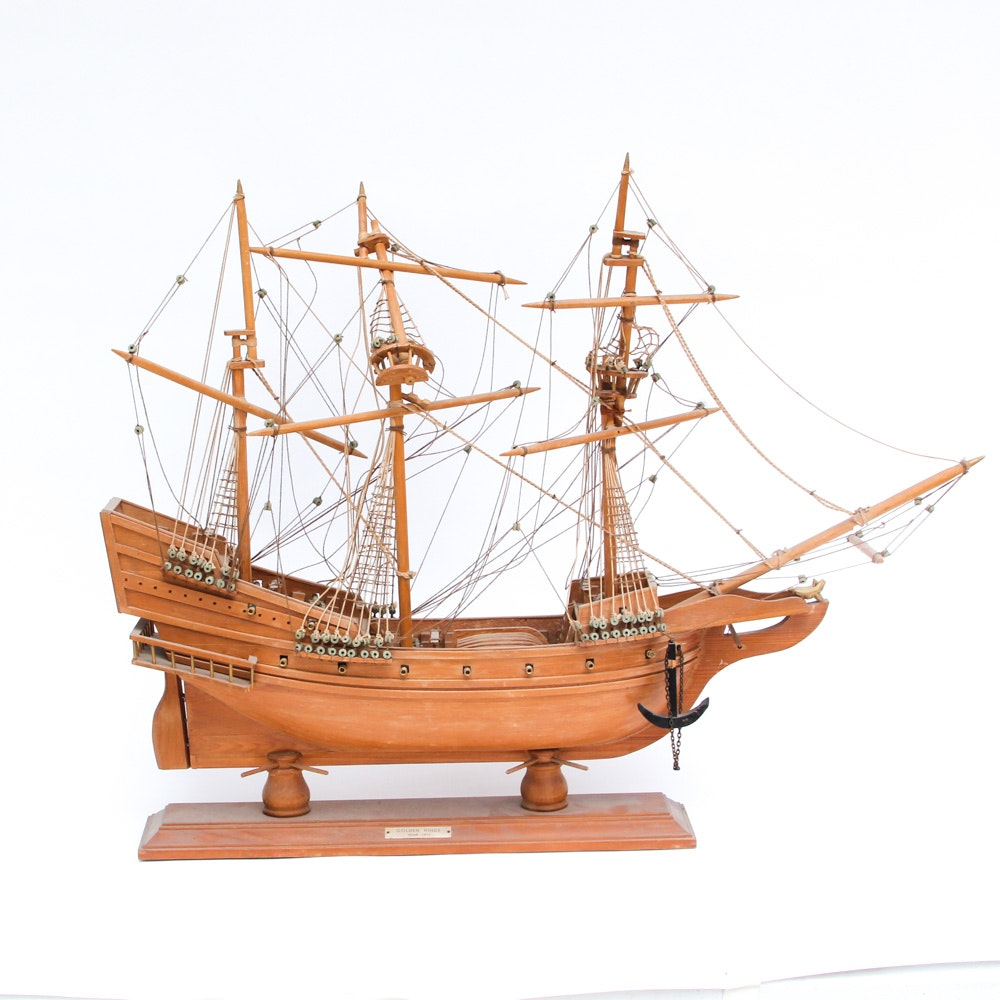 Golden Hinde Model Ship