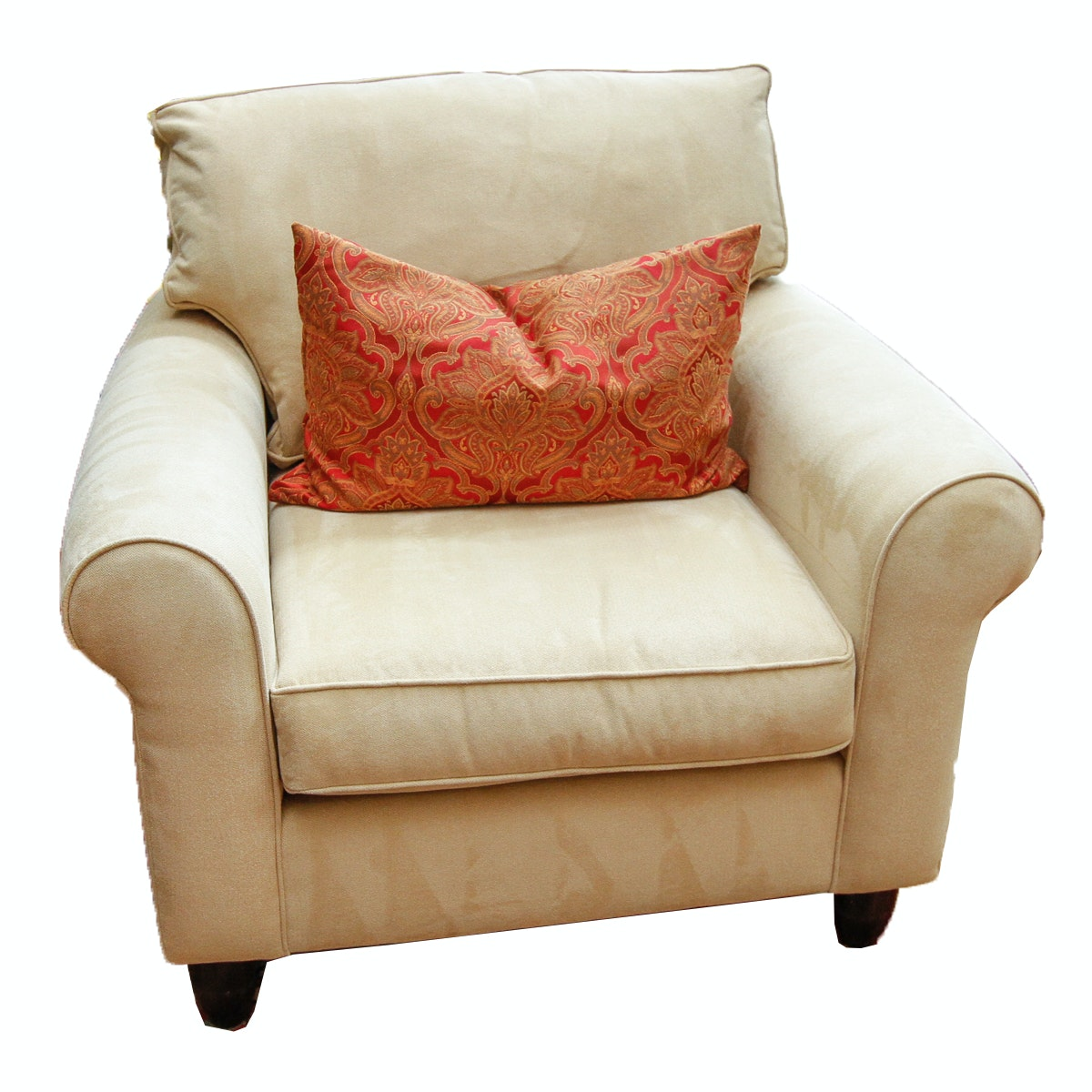Cream Sofa Chair by Havertys
