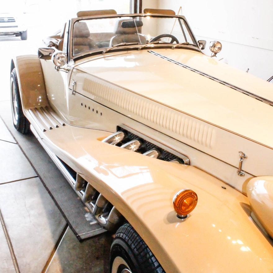 Rare 1979 Clenet Roadster Convertible