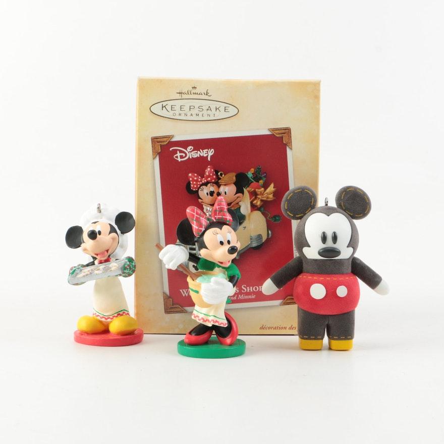 hallmark keepsake mickey mouse christmas tree ornaments - Mickey Mouse Christmas Tree Ornaments