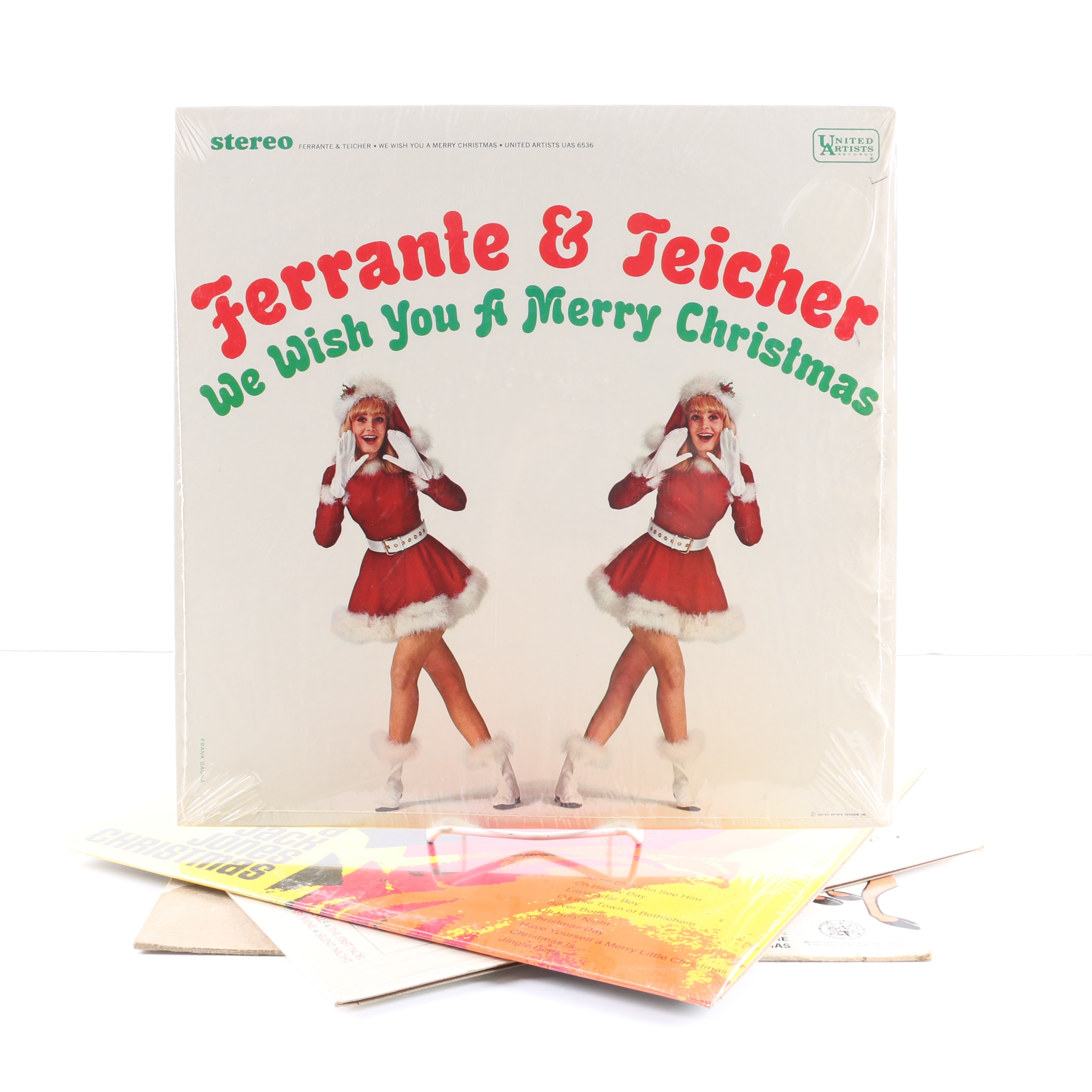 Ferrante & Teicher, Billy Vaughn, and More Christmas LPs