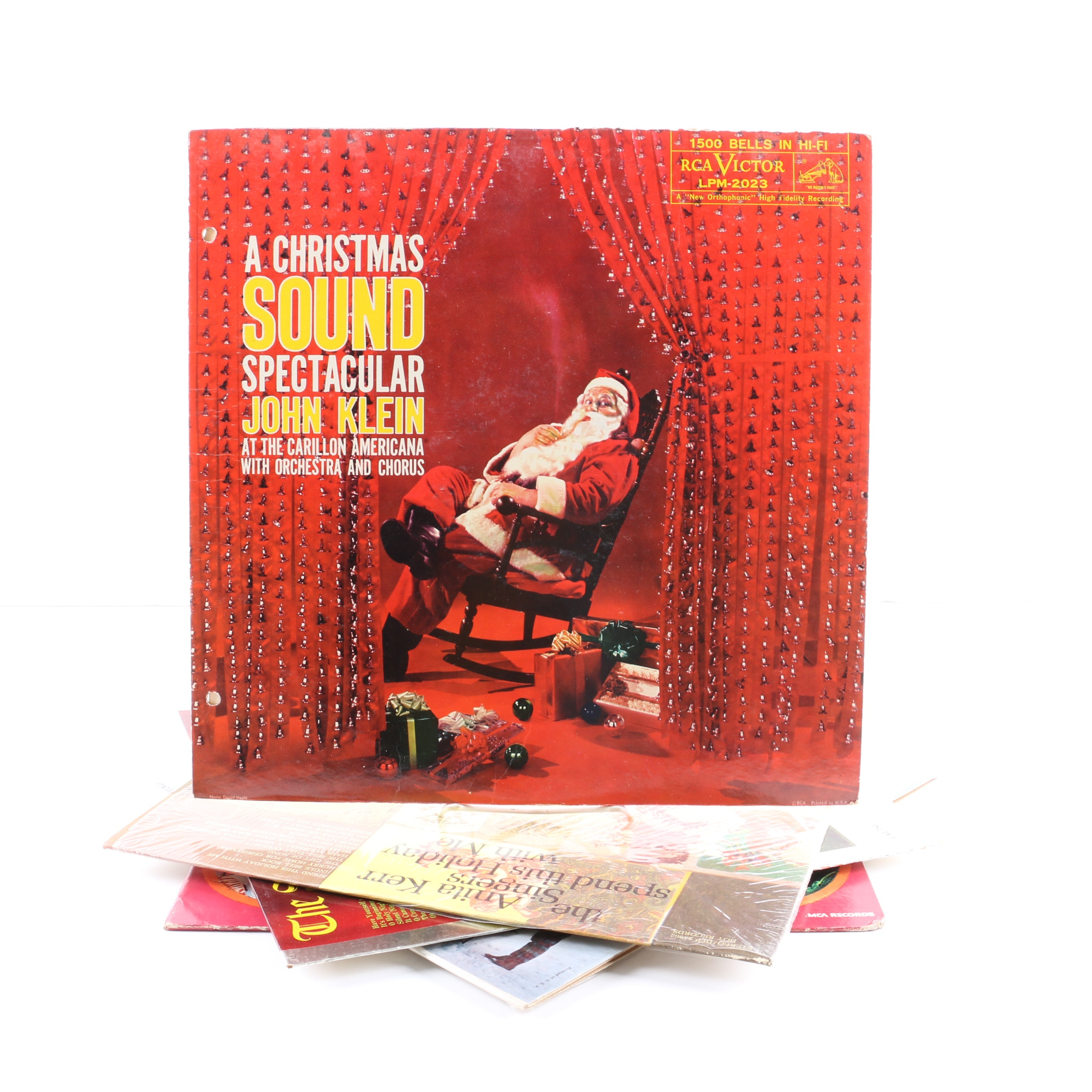 """""""A Christmas Sound Spectacular"""" And More Christmas LPs"""