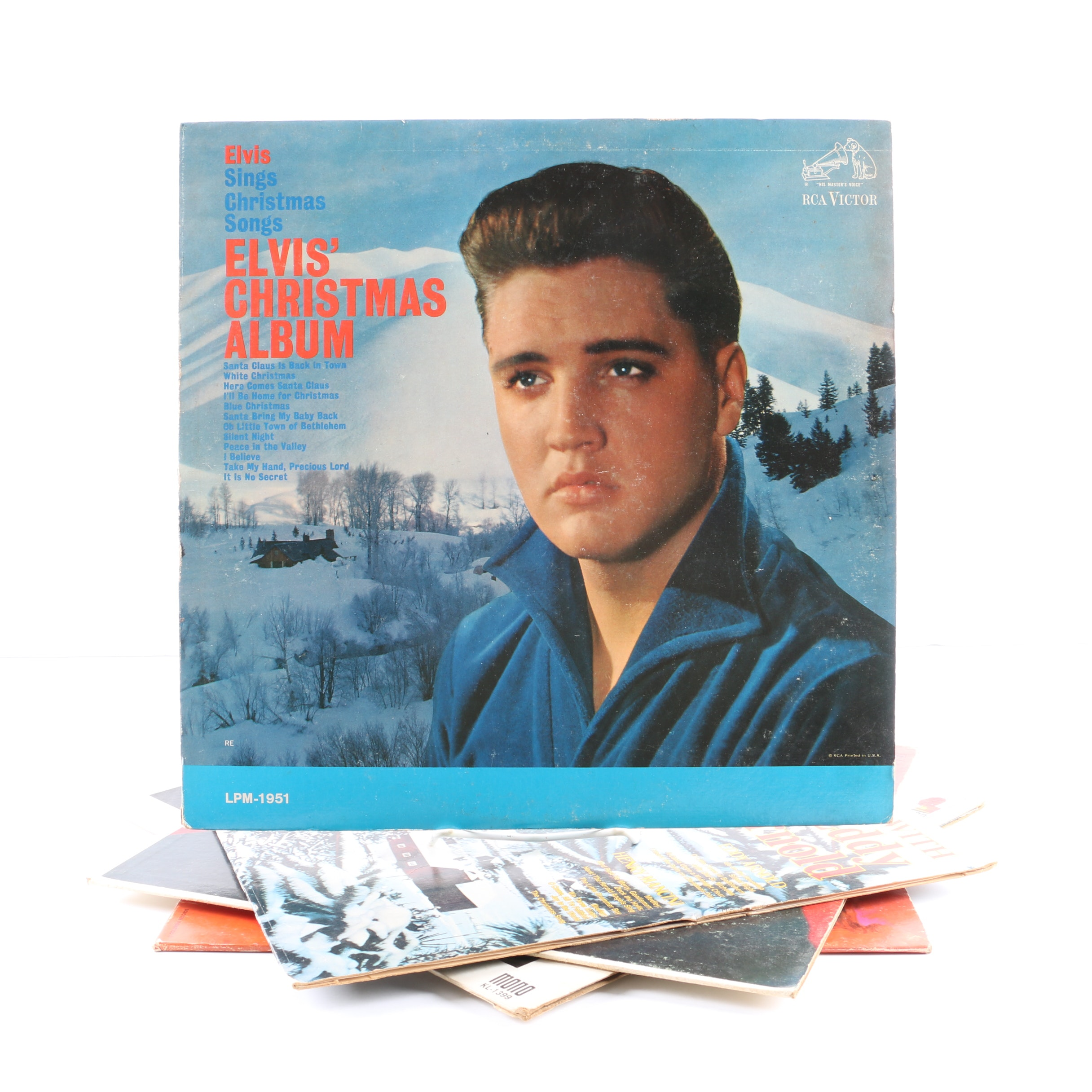 Elvis Presley, Dean Martin, Eddy Arnold, Henry Mancini And More Christmas LPs