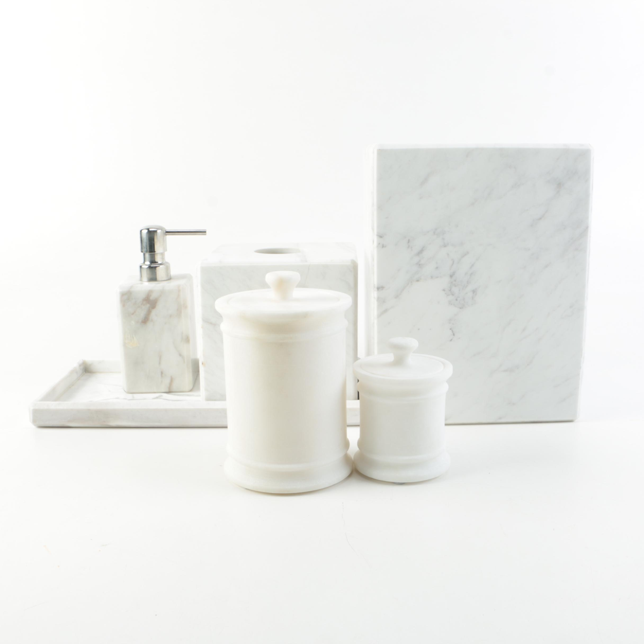 Marble Bathroom Accessories Including Waterworks Studio ...