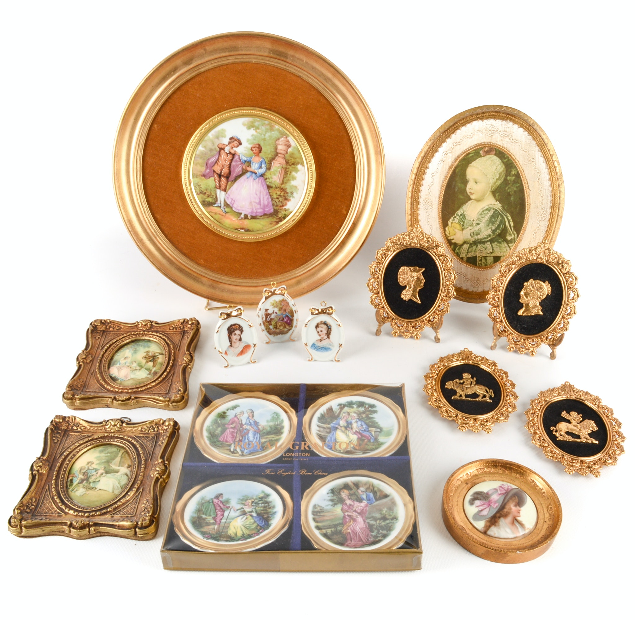 Romantic and Victorian Style Home Decor Including Limoges Porcelain