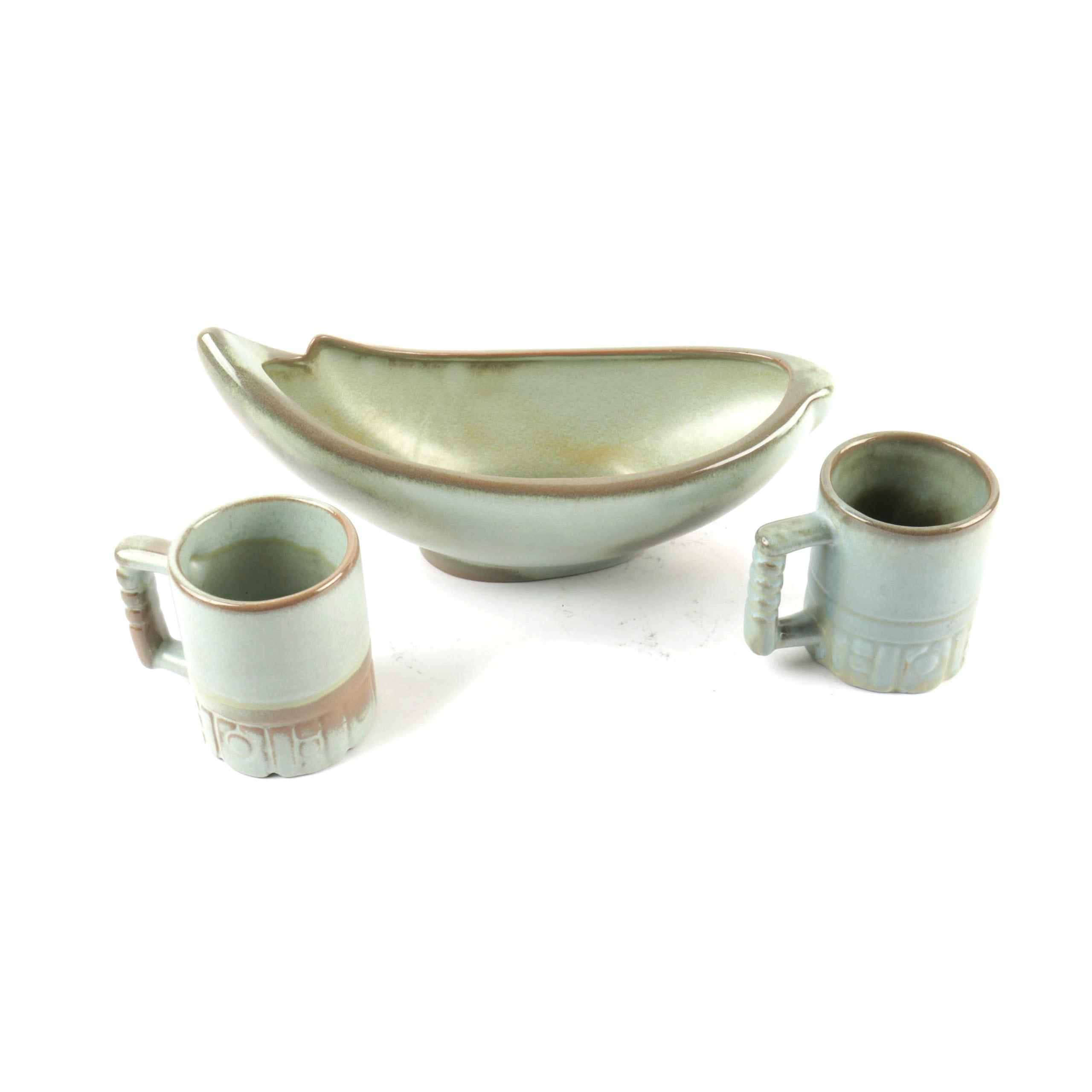 Vintage Frankoma Pottery in Prairie Green ...  sc 1 st  EBTH.com & Vintage Frankoma Pottery in Prairie Green : EBTH
