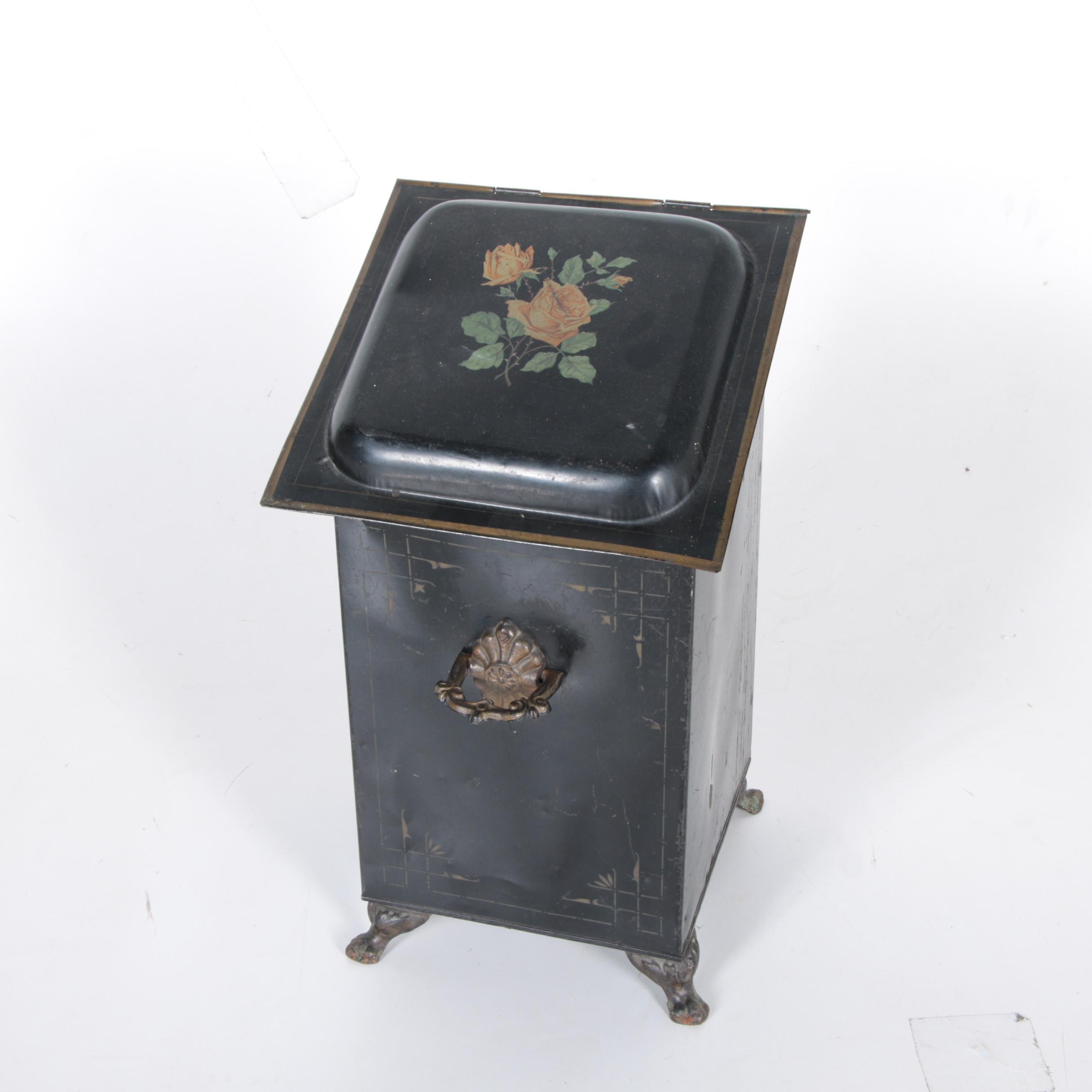 Vintage Coal Scuttle and Scoop