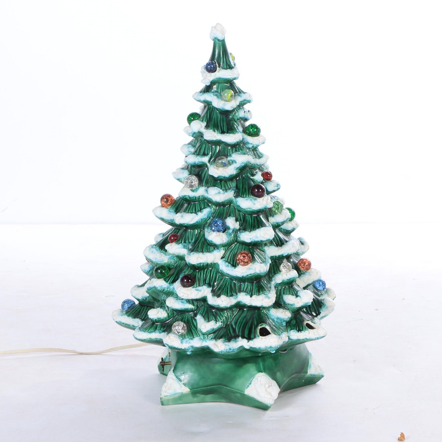 Vintage Holland Mold Christmas Tree Light